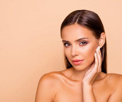 perfect skin girl